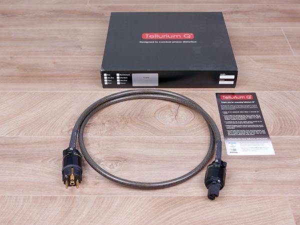 Tellurium Q Black audio power cable 1,5 metre 21