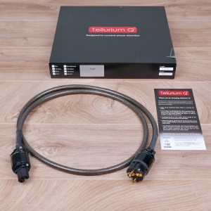 Tellurium Q Black audio power cable 1,5 metre 41