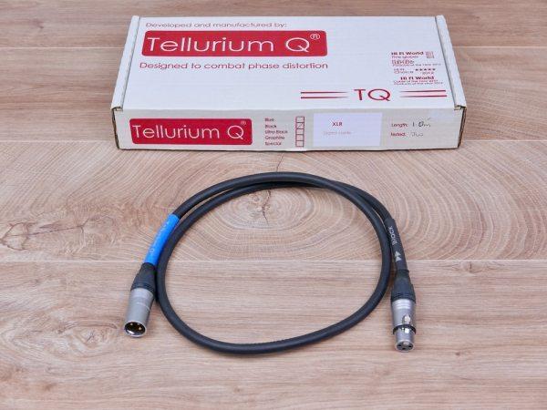 Tellurium Q Black digital audio interconnect XLR 1,0 metre 1