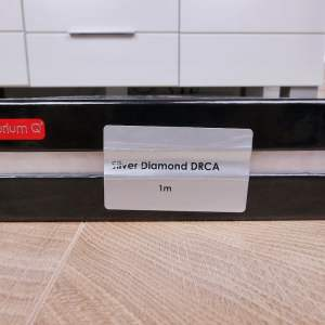 Tellurium Q Silver Diamond Waveform HF Digital audio interconnect RCA 1,0 metre 4
