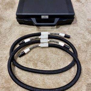 Absolue Creations UL-TIM highend audio interconnects XLR 1,3 metre 1