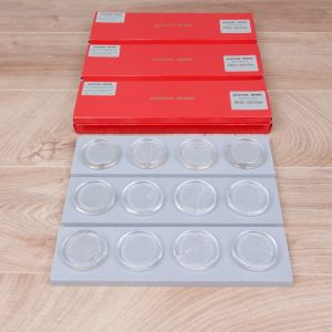 Acoustic Revive RIQ-5010W Pure Smokey Quartz Insulators NEW (3 sets of 4 available) 1