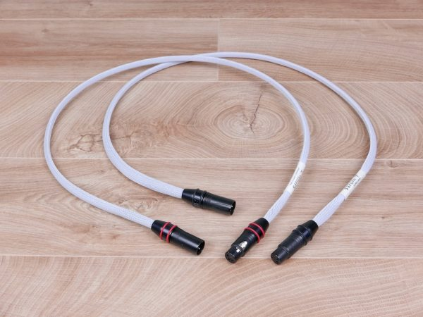 Chord Company Sarum T Super Aray highend audio interconnects XLR 1,0 metre 1