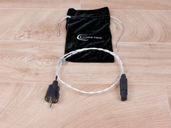 Crystal Cable Standard audio power cable 1,0 metre 11