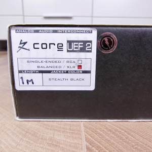 Synergistic Research Core UEF Level 2 audio interconnects XLR 1,0 metre 5
