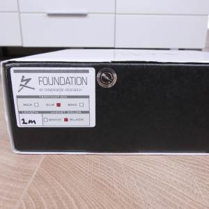 Synergistic Research Foundation audio interconnects XLR 1,0 metre 5