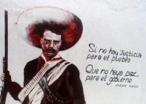 """""""Si no hay justicia para el pueblo que no haya paz para el gobierno"""""""