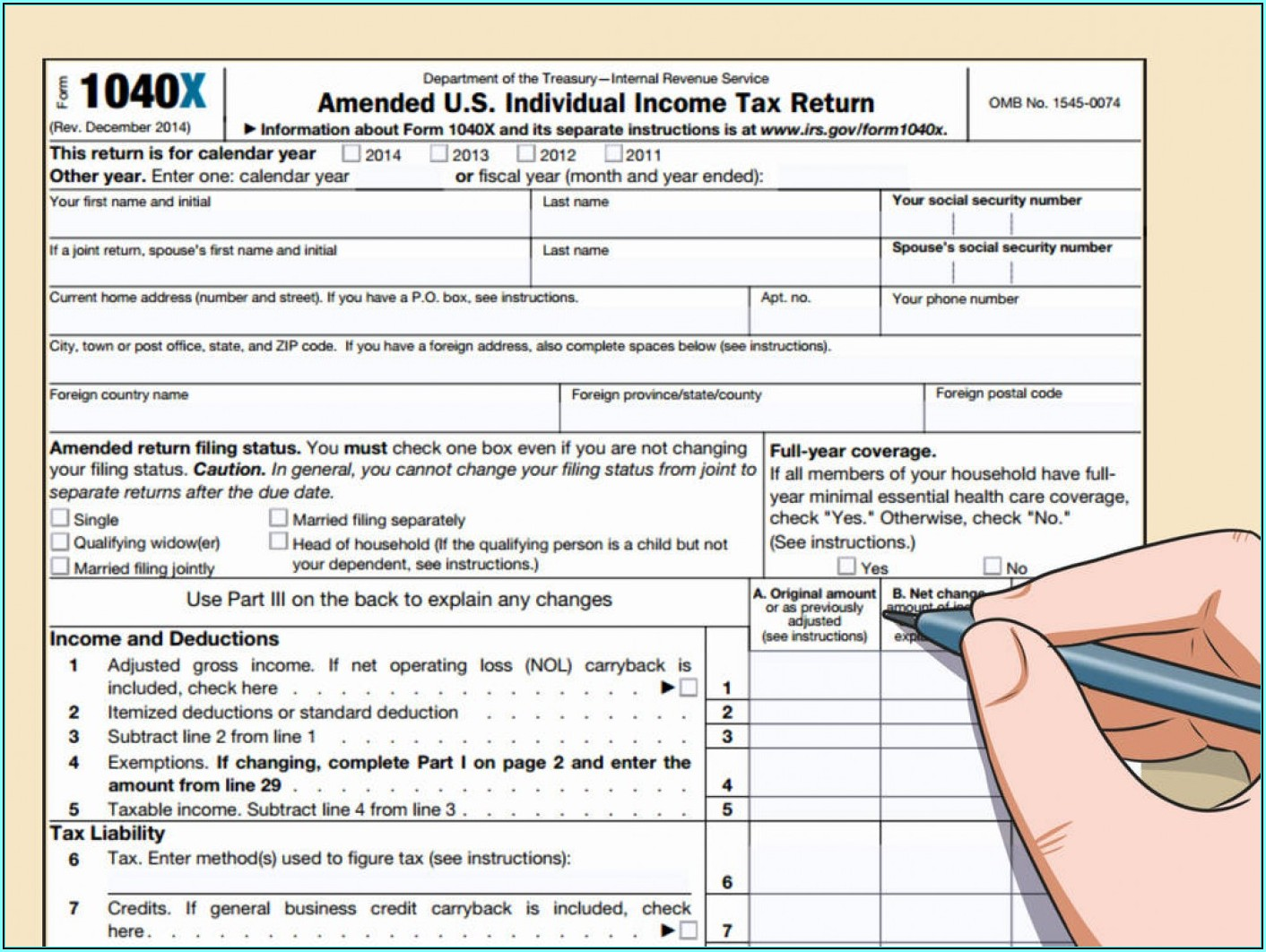 Irs A Forms