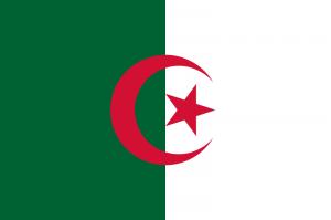 Flagge Algerien