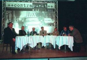 Theo Geißler, Wolfgang Hufschmidt, Siegfried Thiele, Peter Gülke, Gisela May, Stephan Sulke und Manfred Wagenbreth.