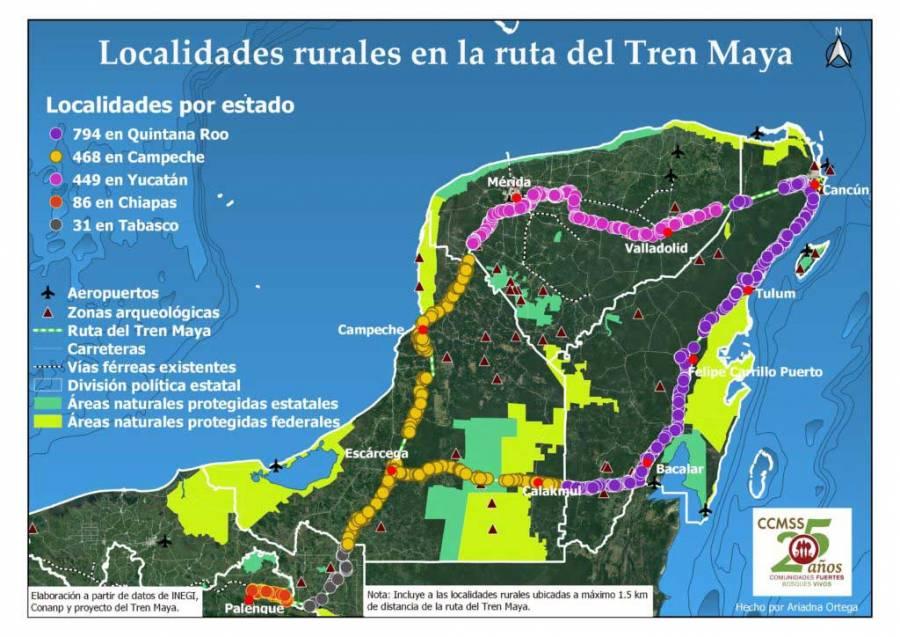 Slim logra ganar segundo tramo del Tren Maya - ContraRéplica - Noticias