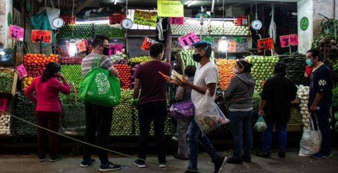 Denuncian brote en el Mercado Portales