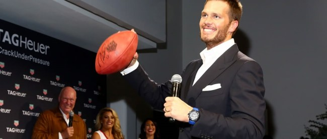 Tom Brady Joins the Tag Heuer Family as an Embassador