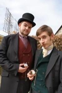 Morgan & West, Victorian Magicians