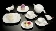 Hayward Gallery shop at Southbank Centre Undergrowth Design Blaue Blune tea set
