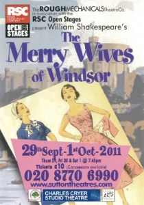 Merry Wives of Windsor at Charles Cryer Studio Theatre