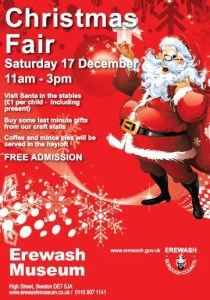 The Erewash Museum Christmas Fair