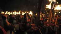 Up Helly Aa fire festival, Shetland mainland