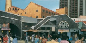 Sudhir Patwardhan, Lower Parel, 2001, © the artist