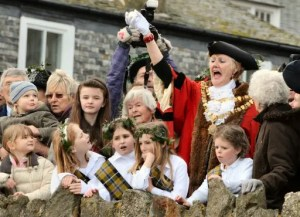 St Ives Feast Day & Hurling the Silver Ball, photo by Colin Sanger