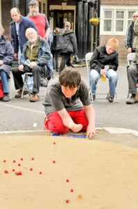 Zachary 13 Shoots at the British and World Marbles Championship