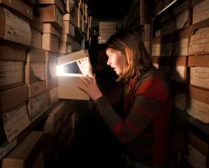 Twilight tour of the Archaeological Archive, Mortimer Wheeler House