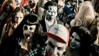 Walk like a zombie at Beach of the Dead