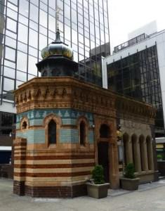 Victorian Turkish baths, New Broad Street in London