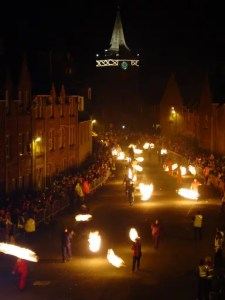 Stonehaven Fireball Ceremony (Photo copyright: Paul Mitchell, www.paulmitchellphotography.com)