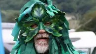 The Green Man at Chepstow Wassail and Mari Lwyd