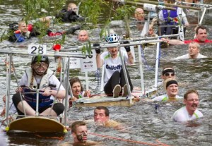 Great Knaresborough Bed Race