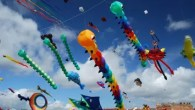 Join swarms of snakes, frogs, lizards and whales at Portsmouth International Kite Festival