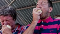 Newent Onion Fayre - Onion Eating Competition