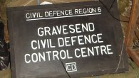 Civil Defence Sign - Gravesend - Cold War Bunker