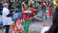 Competitive Christmas challenges at annual Pudding Race