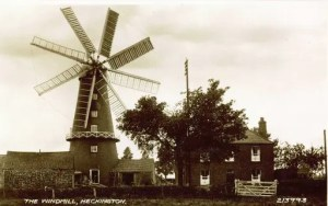 Heckington Windmill - 8 sails - Sleaford - Lincolnshire