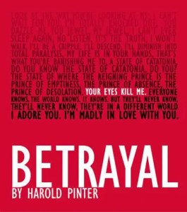 Betrayal - Printer - Old Joint Stock Theatre - Birmingham