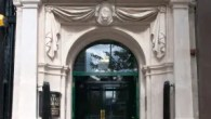 Linen Hall Library front door - Belfast - Curiosity of the Week