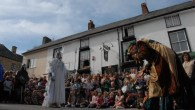 Clun Green Man Festival 2017 - the Jester and the Frost Queen