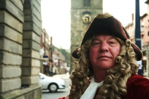 Ray Alexander as Sir John Vanbrugh - Morpeth