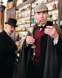 Blists Hill Victorian Town - Shropshire - Sherlock Holmes Weekend