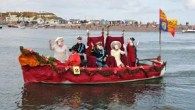 Decorated boats and quirky competitions at Shaldon Water Carnival Day