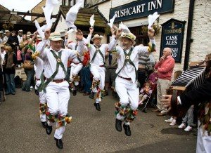 Sowerby Bridge Rushbearing - White Rose Morris Men