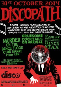 Halloween - Disco - London - Discopath