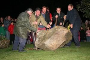 Turning the Devil's Stone - Shebbear 5th November