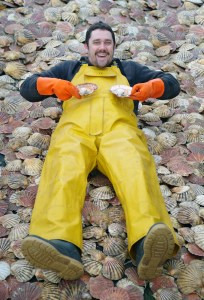 Promoter of Rye Bay Scallop Week (Oliver Campion) - Photo: David Adams