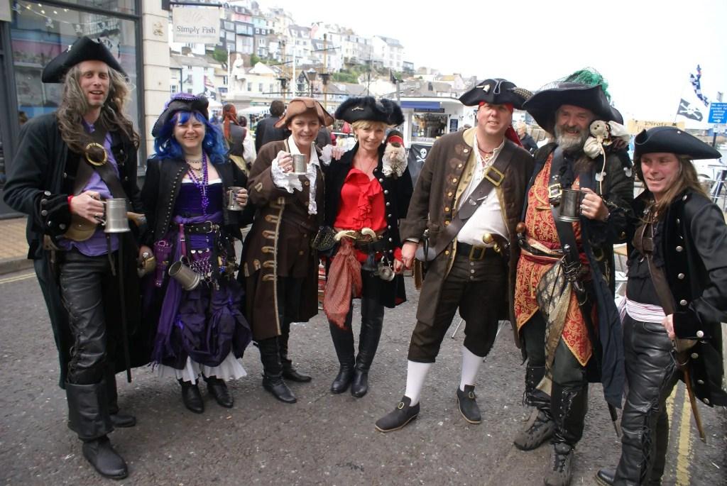 Brixham Pirate Festival 2016