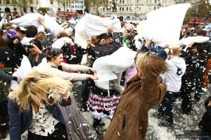 London International Pillow Fight Day 2017