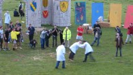 Shin kicking and wheelbarrow races at the Cotswold Olimpick Games