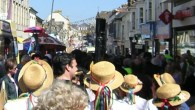Dancing, steam engines and Cornish culture at Trevithick Day